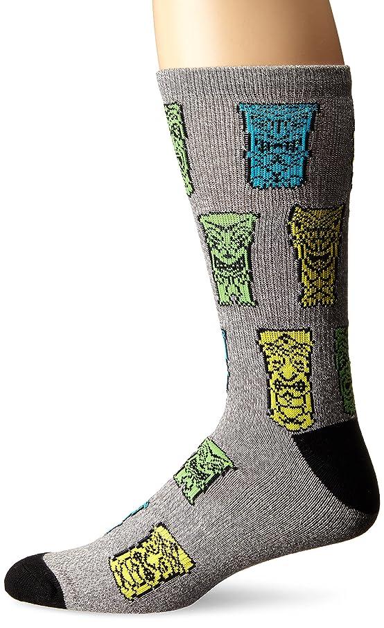 KurB Men's Tiki Sport Fashion Crew Sock