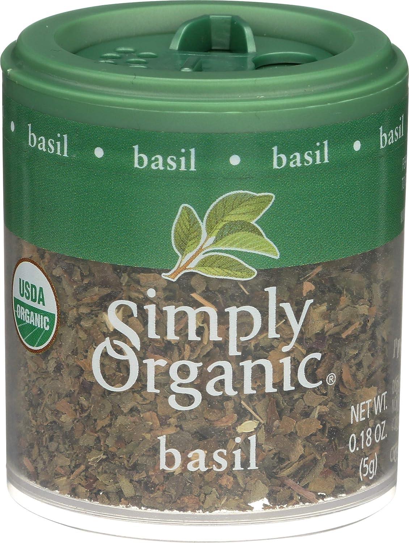 Simply Organic Basil Virginia Beach Denver Mall Mall 0.18 Ounce