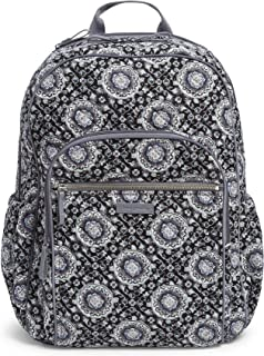 grey cotton backpack