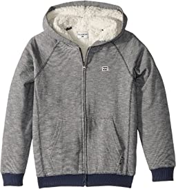Billabong Kids - Balance Sherpa Zip Hoodie (Big Kids)