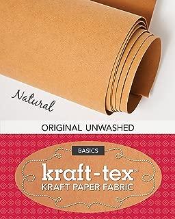Kraft Tex Paper Fabric Natural 18In X 1.63Yd