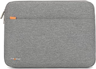 KAYOND 360° Protective 15-15.6 Inch Laptop Sleeve Case, Water Resistant Notebook Bag –Gray