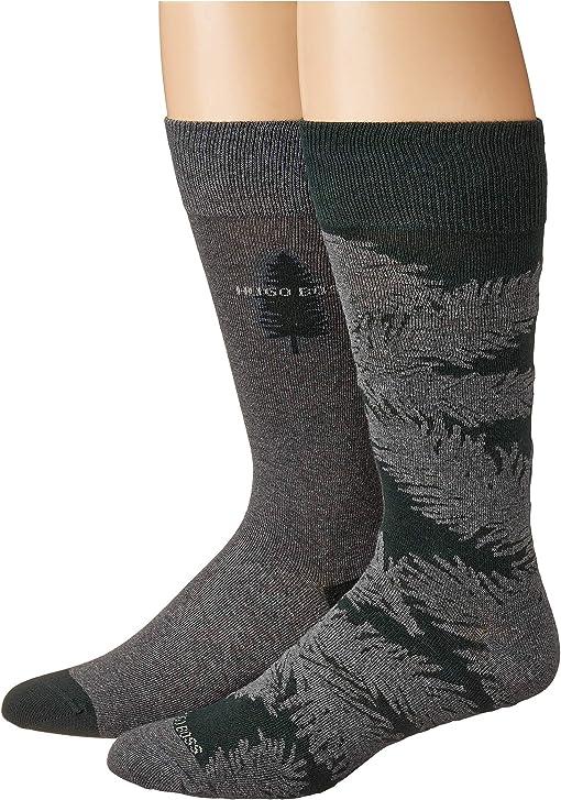 Grey/Pine Green