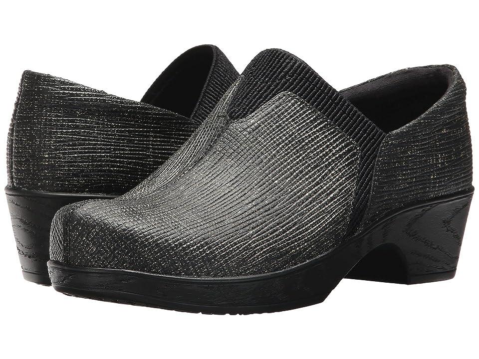 Klogs Footwear Salem (Black Linen) Women
