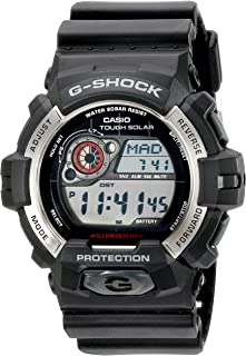 Casio Men's GR-8900-1CR Tough Solar G-Shock Digital Display Quartz Black Watch