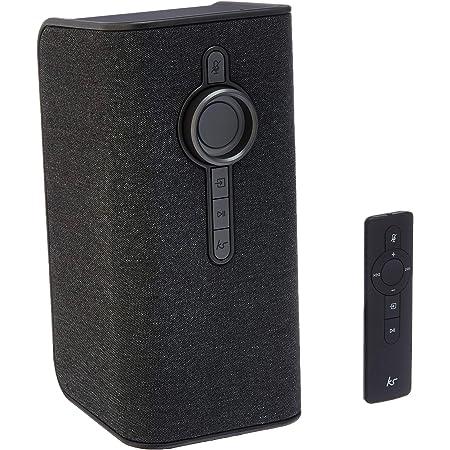 KitSound Voice One con Alexa integrado y Spotify AVS Voice Control Multi-Room Smart Altavoz – Gris