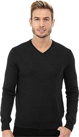 Calvin Klein - Solid Merino V-Neck Sweater