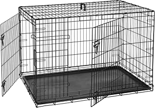 xl dog crate with divider