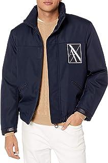 A|X Armani Exchange سترة عاكسة بسحاب