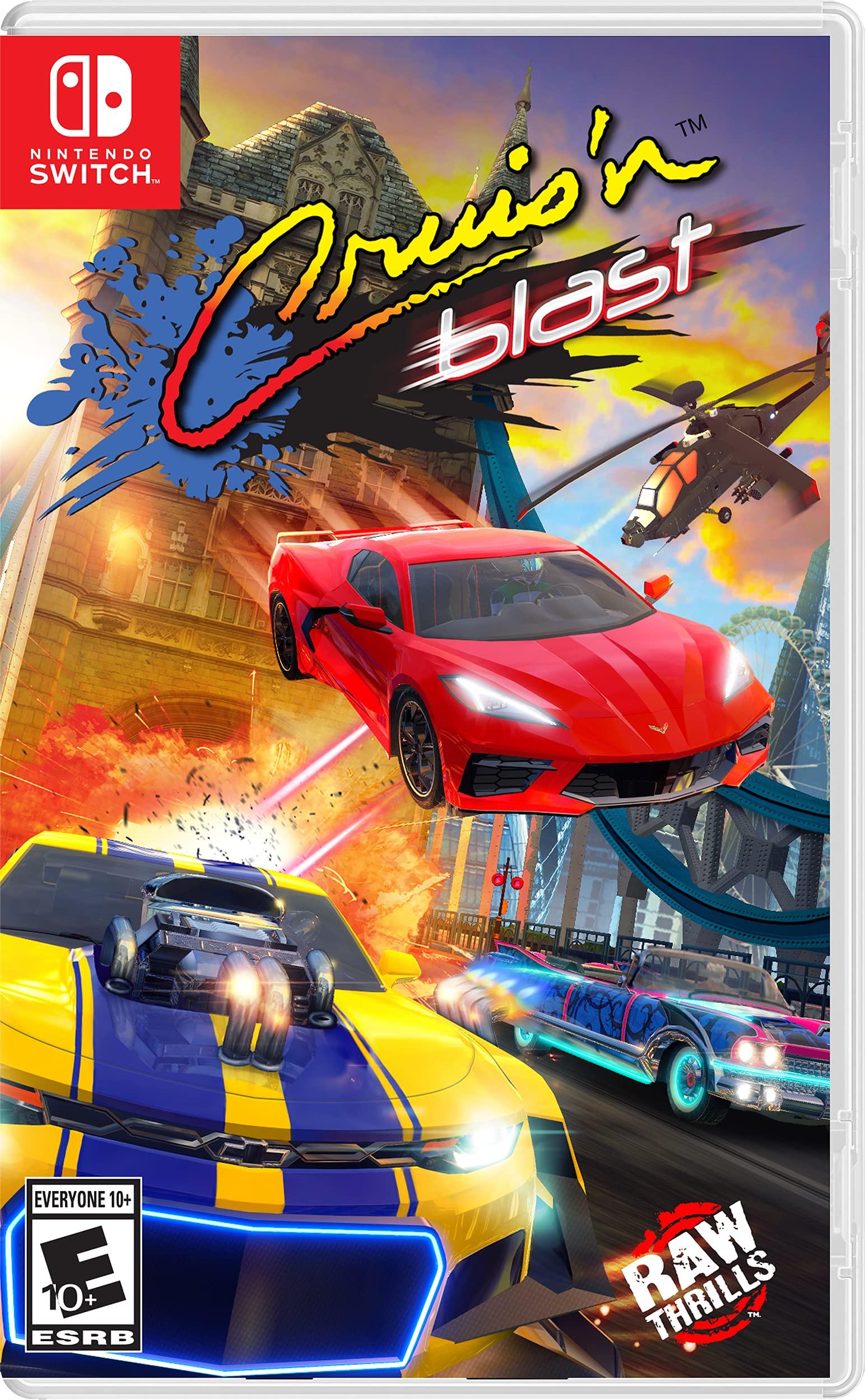 Poster. Cruis'n Blast