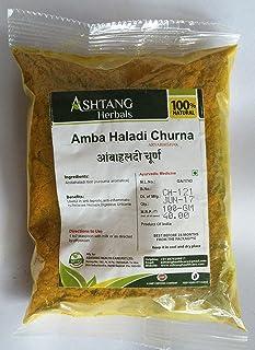 Ashtang Herbal, Amba Haladi Herbal Powder, 100g, Pure and Naturel