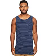 Scotch & Soda - Singlet in Jersey Quality with Yarn-Dyed Stripe Pattern and Chestpocket