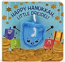Happy Hanukkah, Little Dreidel (Finger Puppet Board Book)