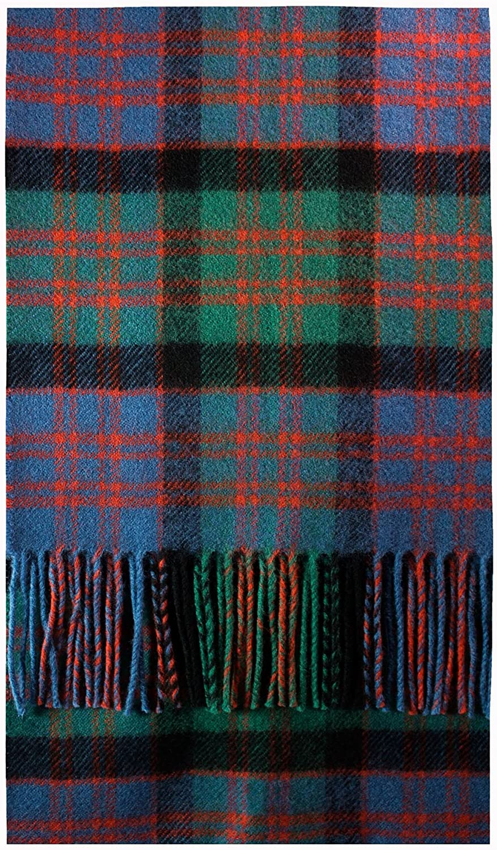 Max 88% OFF Alternative dealer MacDonald Clan Ancient Tartan Luxury Scarf Brushwool