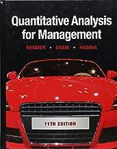 Quantitative Analysis for Management (11th Edition)