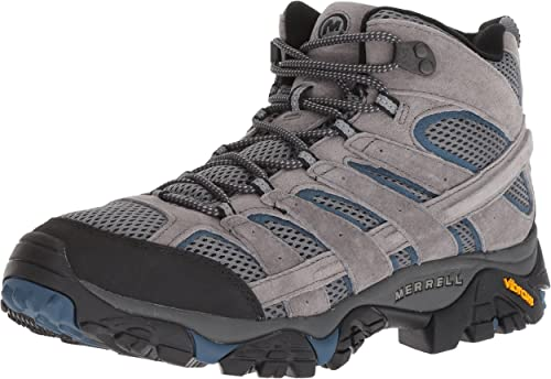 Merrell Men's Moab 2 MID Vent Turnzapatos, Castle Wing, 9 M US