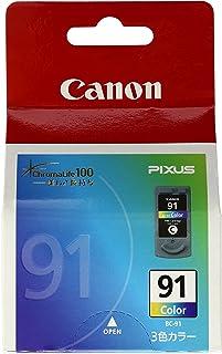 Canon 純正インクカートリッジ BC-91 3色カラー BC-91