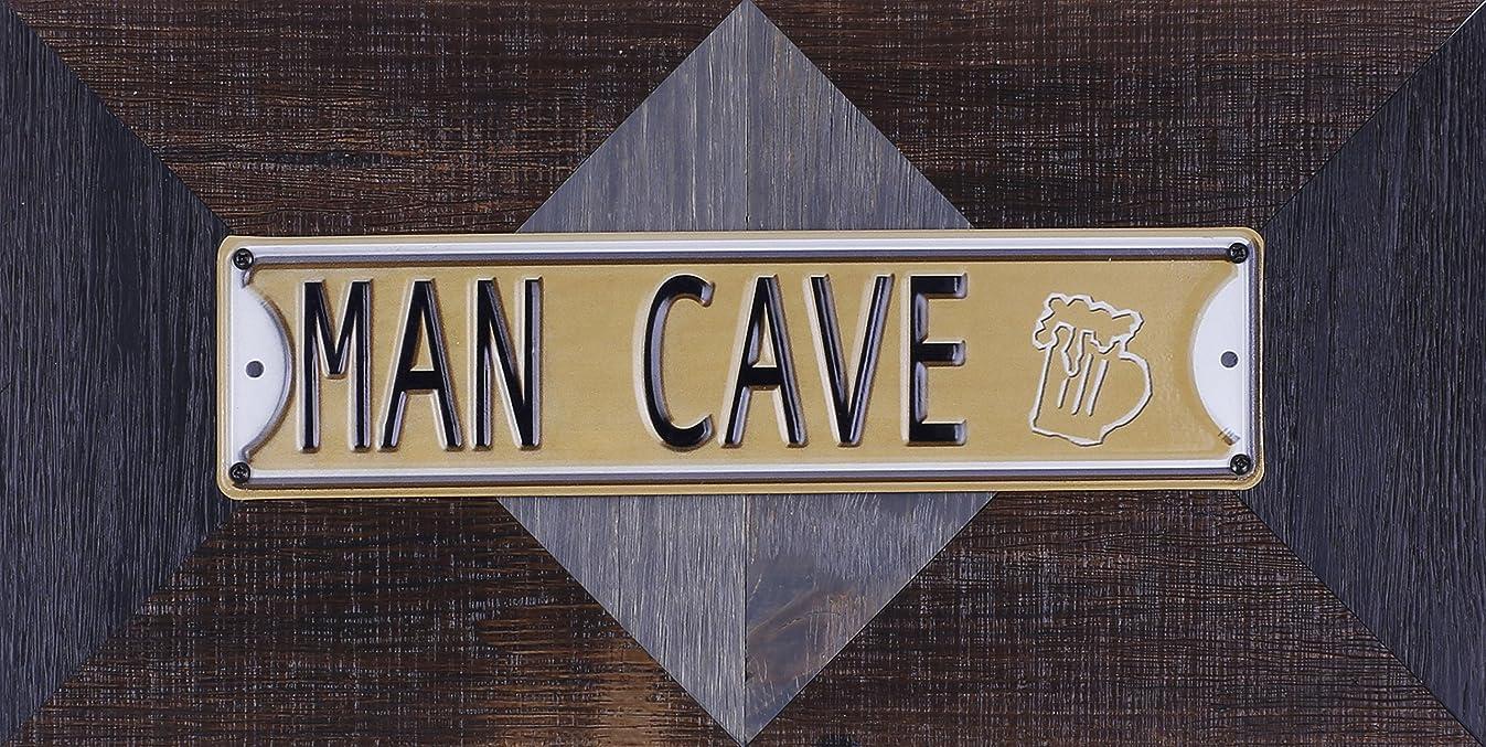ArtMaison.ca 22.25-Inch by 11.5-Inch Mixed Media Metal Art Décor, Sam O, Man Cave
