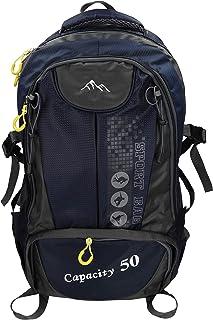 Mochila Unisex para Viaje Senderismo Camping Tiempo Libre Capacity II con 3 Bolsillos Volumen de 28 litros Color Azul Oscuro