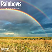 2021 Rainbows Wall Calendar by Bright Day, 12 x 12 Inch, Beautiful Weather Nature