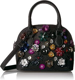 Best black flower handbag Reviews