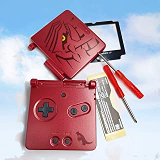 Full Housing Case Cover Housing Shell Replacement for Game boy Advance SP GBA SP Shell Case with Buttons Kit