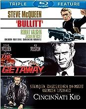 Steve McQueen Triple Feature: (Bullitt / Cincinnati Kid / Getaway)
