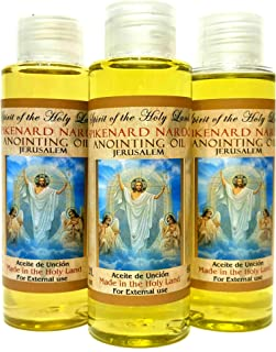 3 Bottles Of Spikenard Nard ANOINTING OIL Blessed in Jerusalem Holy Land 60 ml