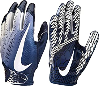 Nike Adult VaporKnit 2.0 Receiver Gloves 2018 (XL, Navy/White)