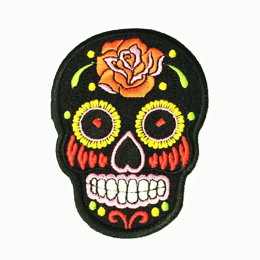 Patch Portal Black Mexican Sugar Skull Candy 3.5