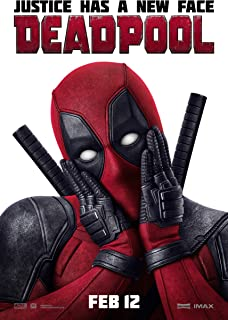Deadpool Movie Poster 14'' x 21'' NOT A DVD