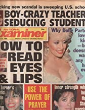 National Examiner 1986 Sep 16 Dolly Parton,Tina Turner,