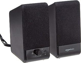 Amazon Basics Computer Speakers for Desktop or Laptop PC...