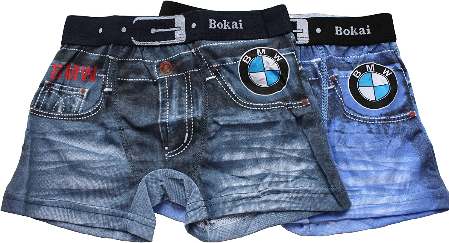 Set of Two Boxer Shorts for Boys. Komlpetk Two Panties.