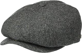 NEW FLAT CAP HAT QUILTED BLUE BROWN GREY BLACK MENS BOYS QUALITY COUNTRY PEAKED