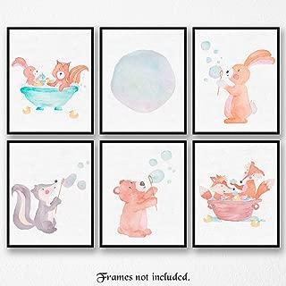 fox nursery wall art