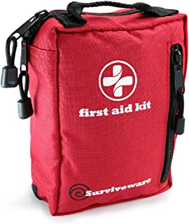 کیت کمک های اولیه برای پیاده روی، بسکتبال، کمپینگ، مسافرت، ماشین و دوچرخه سواری. با کیسه های ورقه ورقه ضد آب که شما از لوازم خود محافظت می کنید! آماده شدن برای همه ماجراهای در فضای باز یا در خانه و کار