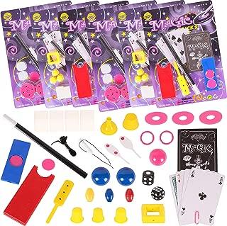 Narwhal Novelties Magic Party Favors,12-Magic Kit Favors; Birthday Party; (12 Magic Kits ) Favors for Kids; Magic Tricks, Magic Cards & More!