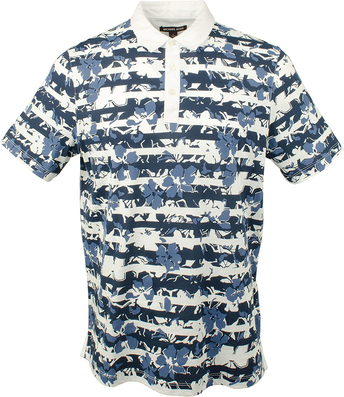 Michael Kors Men's Floral 人気の製品 直営ストア Polo Shirt Print