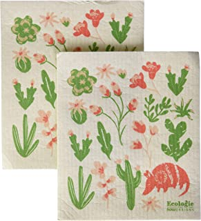 NOW DESIGNS Armadillos Dish Cloth, 1 EA