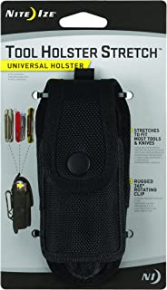Nite Ize Tool Holster Stretch, Universal Multi Tool Holder With Elastic Side Panels + Rotating Belt Clip