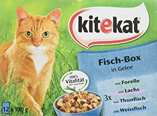 Kitekat Poultry All Sorts in Jelly, 12 x 100 g