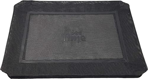 Its Bed Time – Premium Elevated Dog Bed Cover – Breathable Mesh Keep Cool – Durable Tear and Flee Resistant Cover – E...