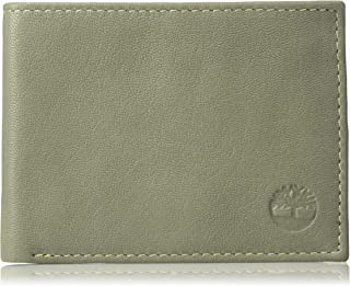 Timberland Men's Leather RFID Blocking Passcase Security Wallet