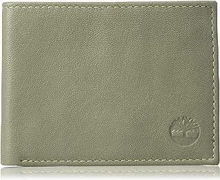 Men's Genuine Leather RFID Blocking Passcase Security Wallet