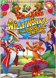Tom and Jerry: Willy Wonka and the Chocolate Factory (DVD)