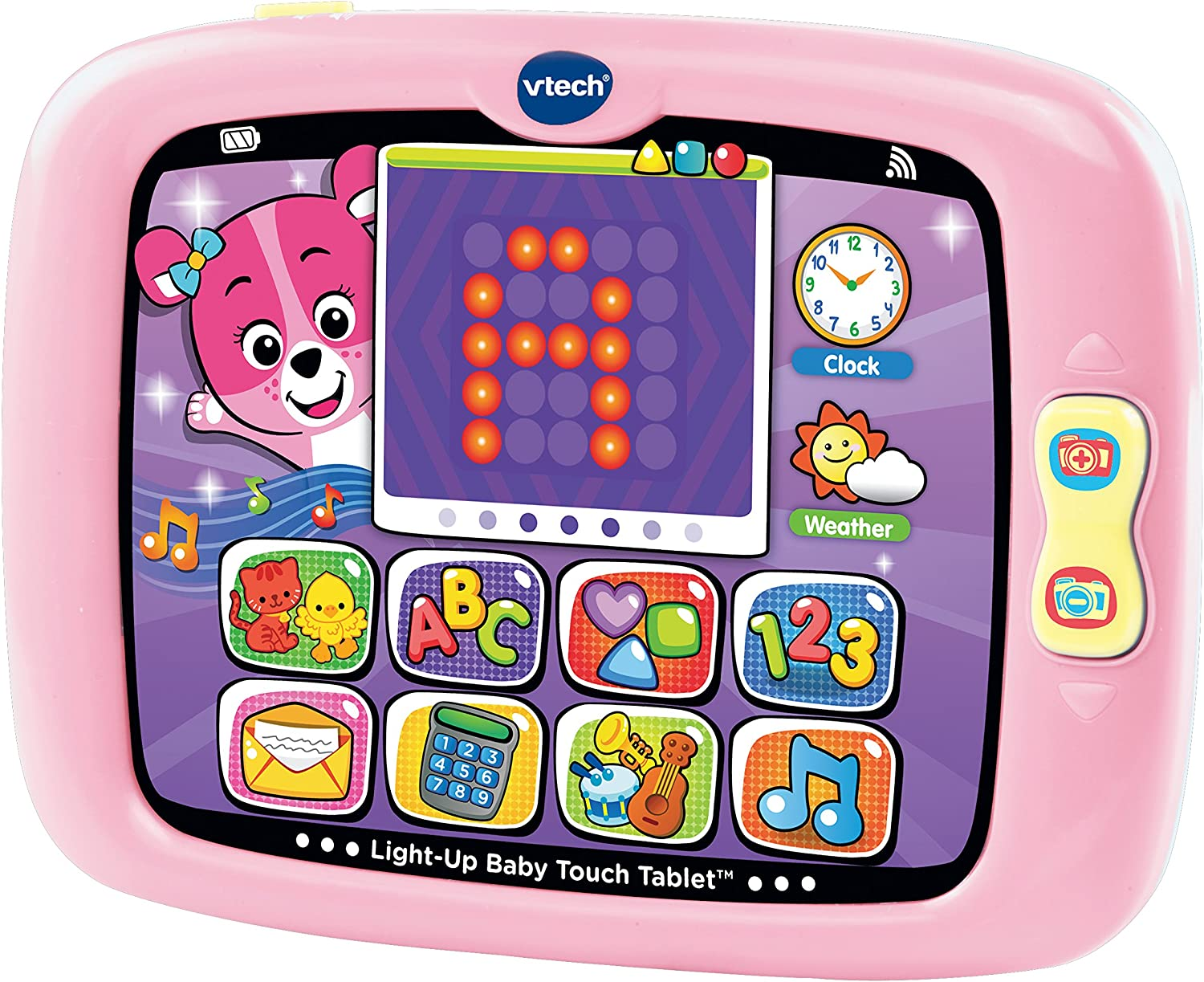 VTech LightUp Baby Touch Tablet, Pink