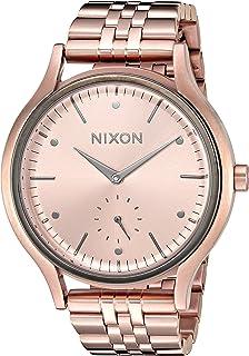 Nixon Women's 'Sala' Quartz Stainless Steel Watch, Color:Rose Gold-Toned (Model: A9942046-00)