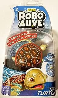 Zuru Robo Alive Brown Sea Turtle Swims & Walks Like a Real Tiny Turtle!