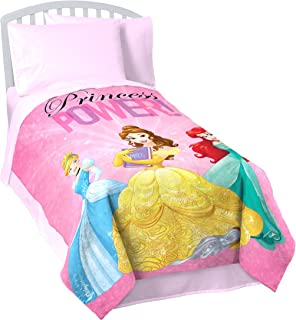 "Jay Franco Disney Princess 'Friendship Adventures' Twin Blanket, 62"" x 90"""
